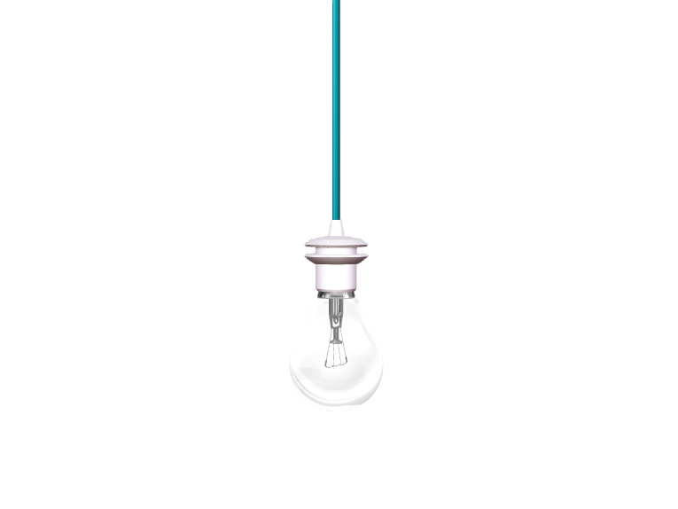 Light bulb template - 3D design by VECTARY Oct 9, 2017