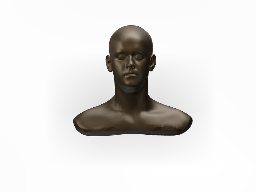 Dark Head - 3D design by cdiaz1 Sep 13, 2017