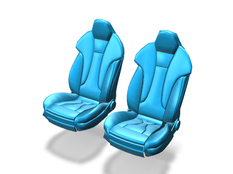 Car Seat - 3D design by cicig0901 on May 19, 2018