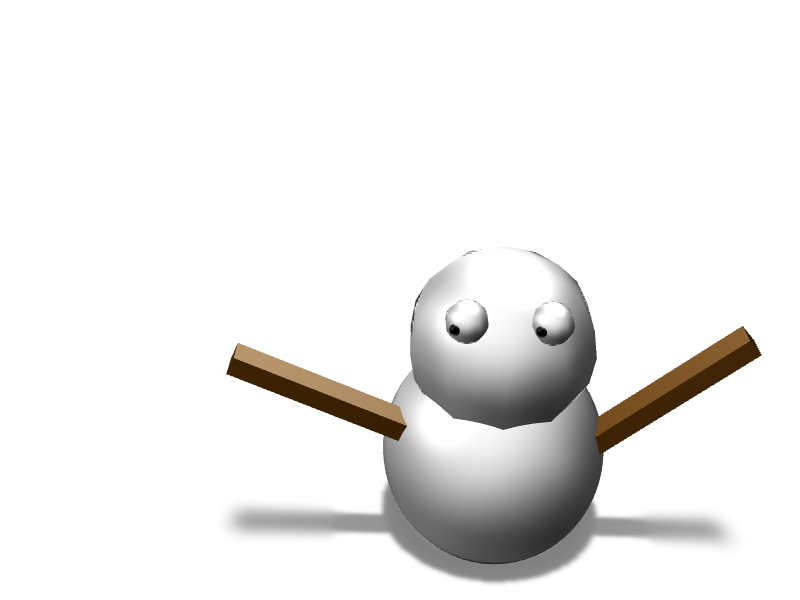 snowman - 3D design by Mr judía 666 Nov 17, 2017