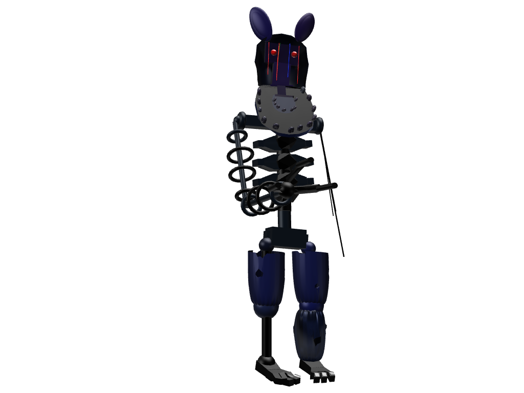 Ignited Bonnie - 3D design by sebastiandollybbb Sep 20, 2017