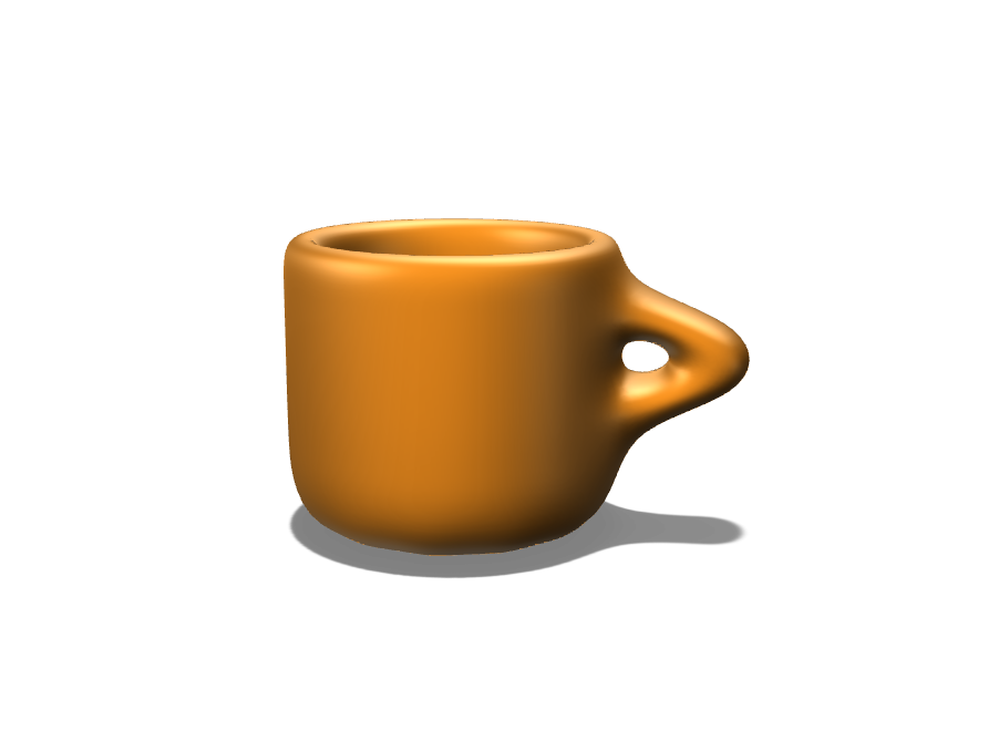 My first mug - 3D design by jlund on Nov 1, 2017