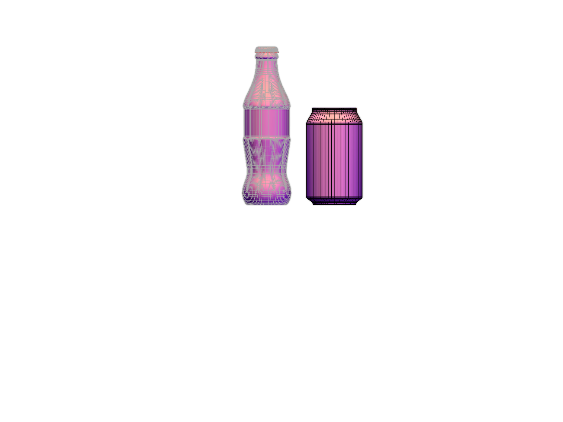 Bottles - 3D design by Jamie Ranston May 31, 2018