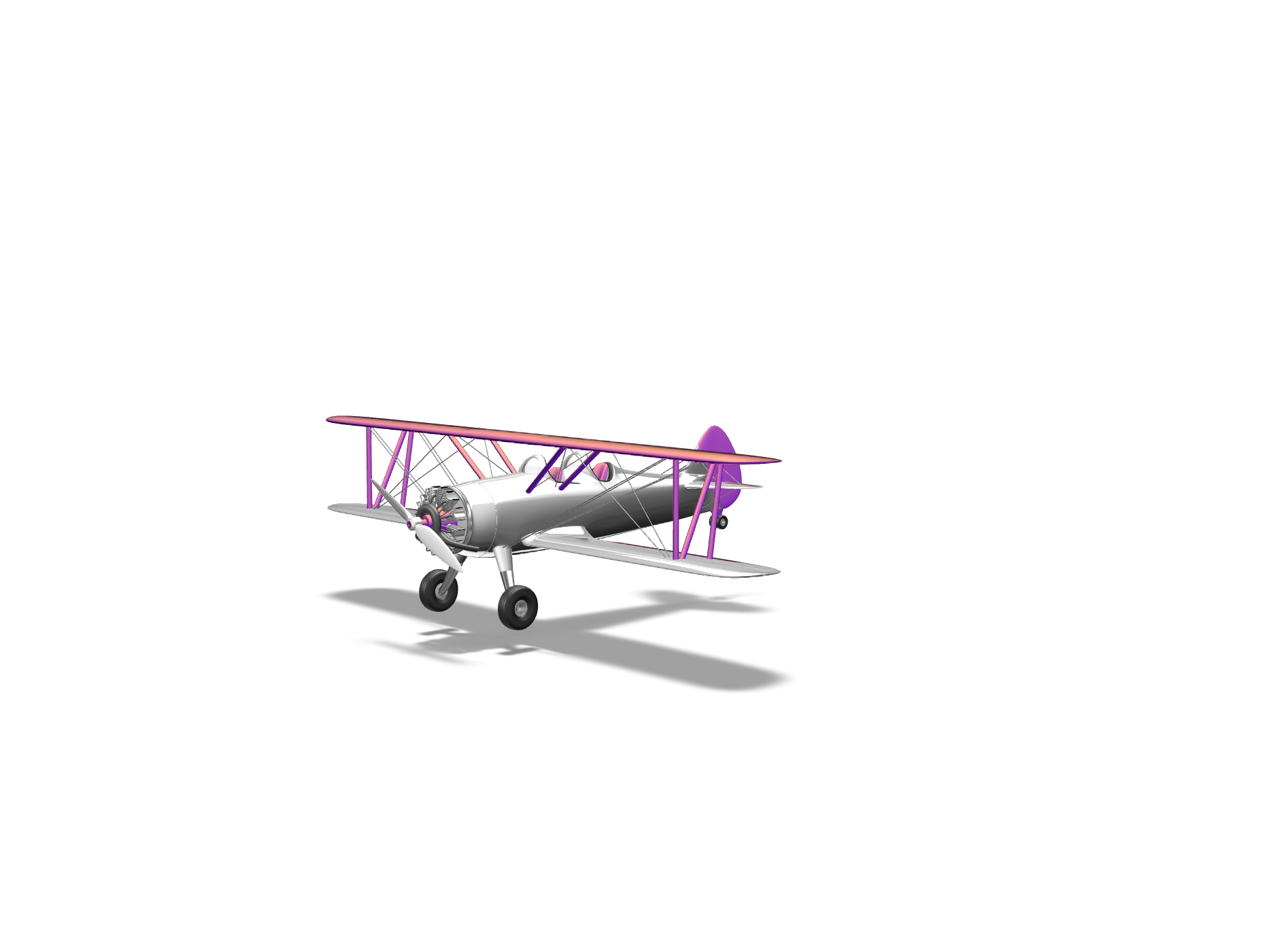 Air Plane - 3D design by jcroake.23 Nov 6, 2017