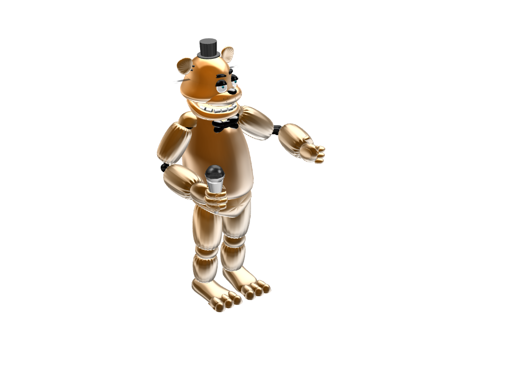 Freddy Fazbear - 3D design by sebastiandollybbb Sep 27, 2017