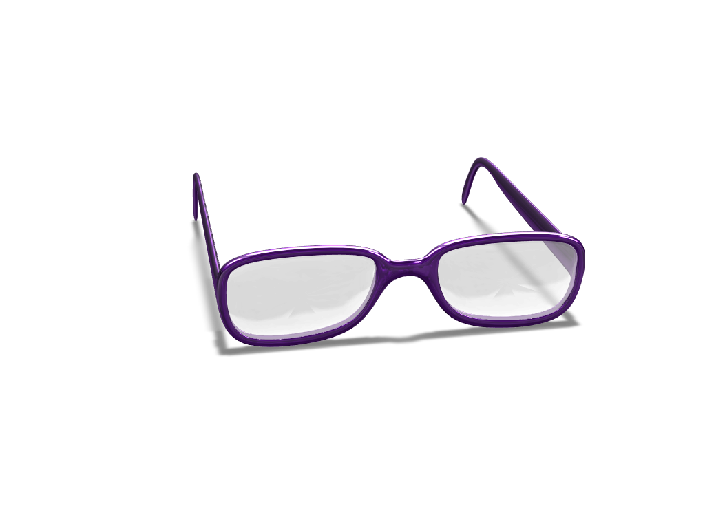Glasses - 3D design by rhhughes May 8, 2018