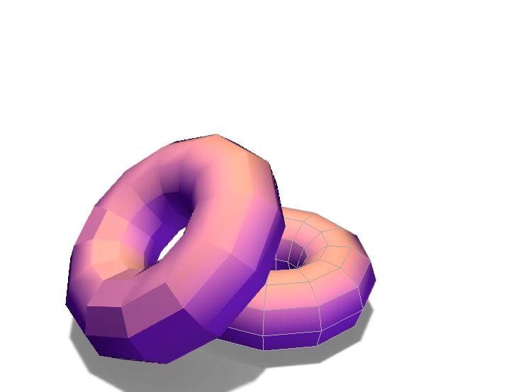 doughnuts - 3D design by norrieli000 on Mar 19, 2018