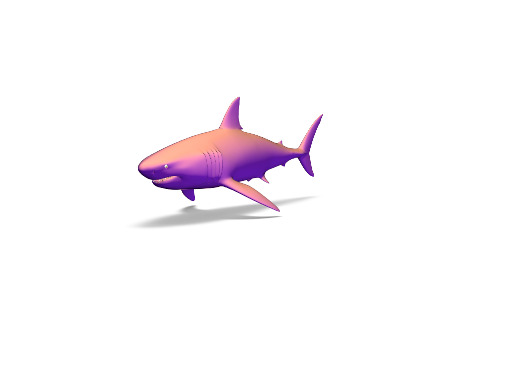 Shark - 3D design by oxana.singh Feb 27, 2018