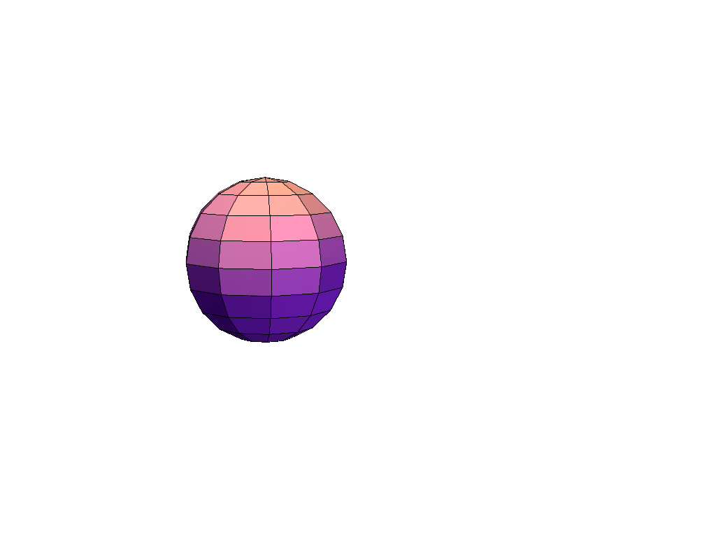 Test_3D_Sphere - 3D design by tbecskeh on Apr 14, 2018