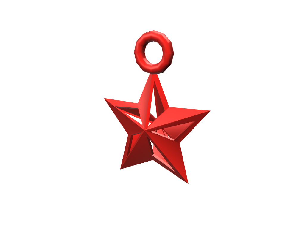 Star bauble - 3D design by lewmanuel Nov 13, 2017