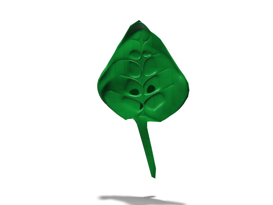 Leaf - 3D design by axelkaban May 11, 2018