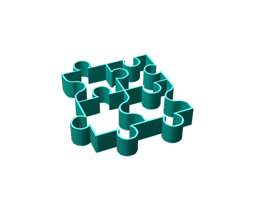PUZZLE - 3D design by pineapple_elza Mar 28, 2018