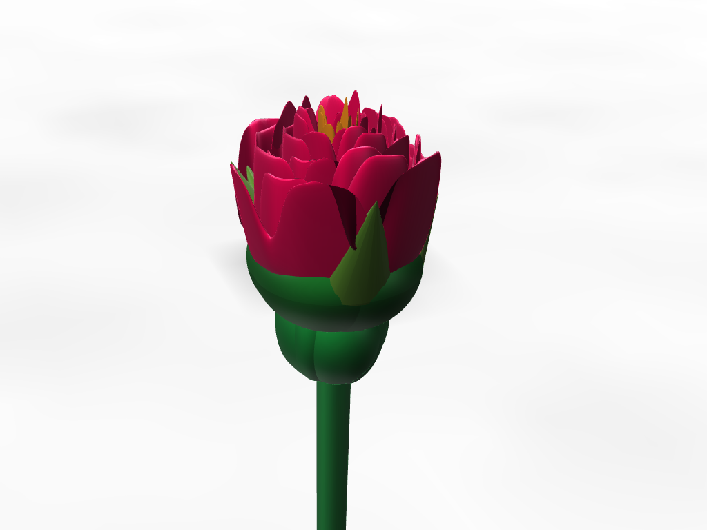 purdy flowers - 3D design by theplasticowboy Aug 28, 2017