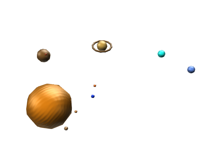 solar system - 3D design by 20010844 on Jun 5, 2018