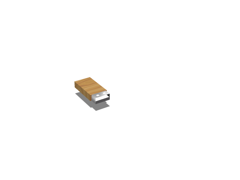 USB TEST - 3D design by techysavage on Nov 8, 2017