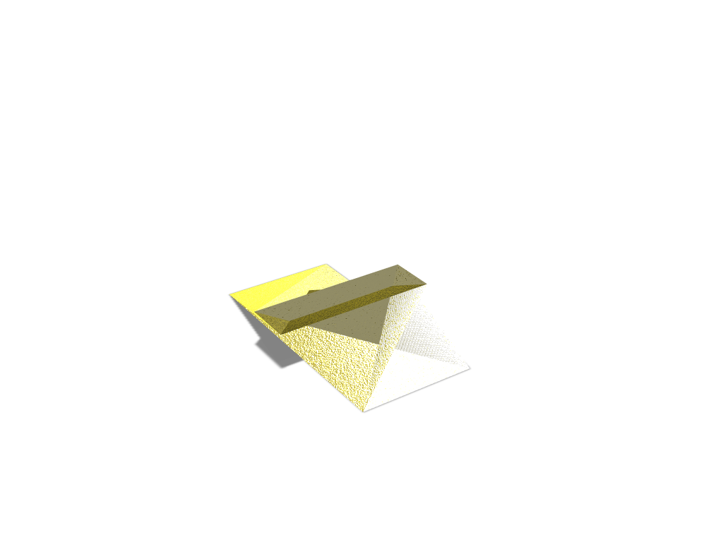 Gold Bar - 3D design by ap34230 on Jan 19, 2018