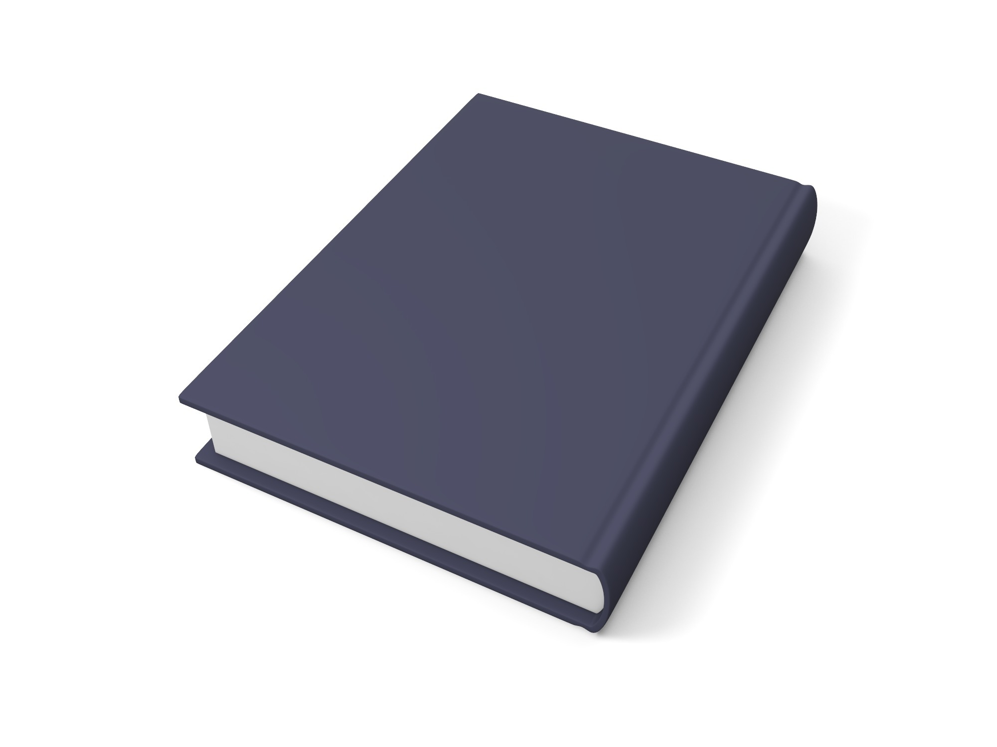 Thick rectangular book - 3D design by Vectary assets Aug 20, 2018