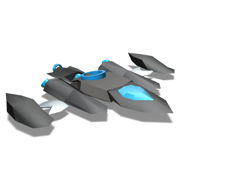 Battleclass Supership Genesis Ark - 3D design by AmL_AtalonicANZ Feb 1, 2018