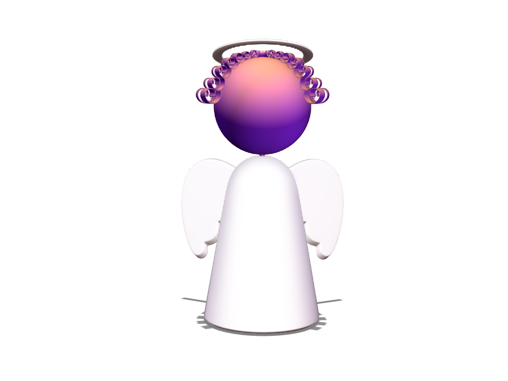 Angel - 3D design by VECTARY Jan 4, 2018