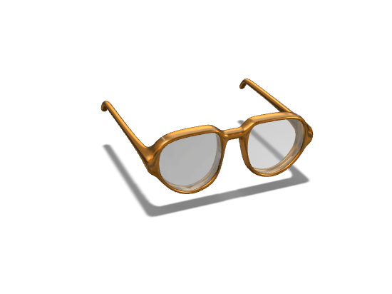 Crofton Glasses - 3D design by Jacob Tran on Feb 16, 2018