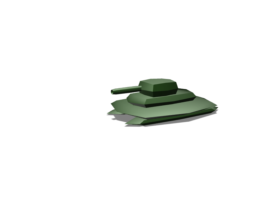 HOVER-TANK - 3D design by STARTREK on Nov 21, 2017