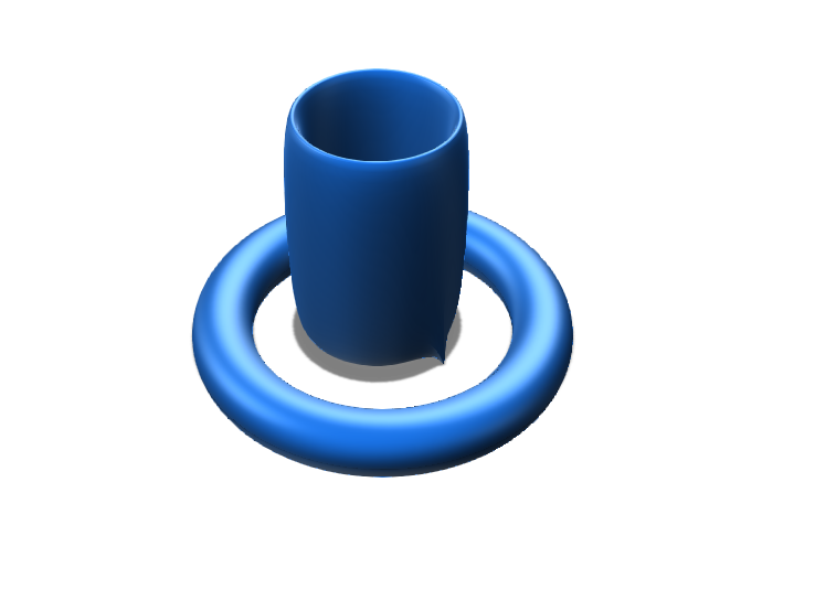 cup and holder - 3D design by jbrant8746 Nov 14, 2017