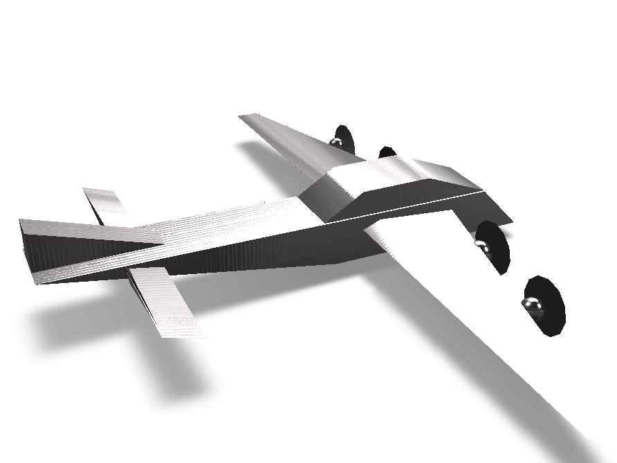 Air Plane - 3D design by Hamza on May 1, 2018