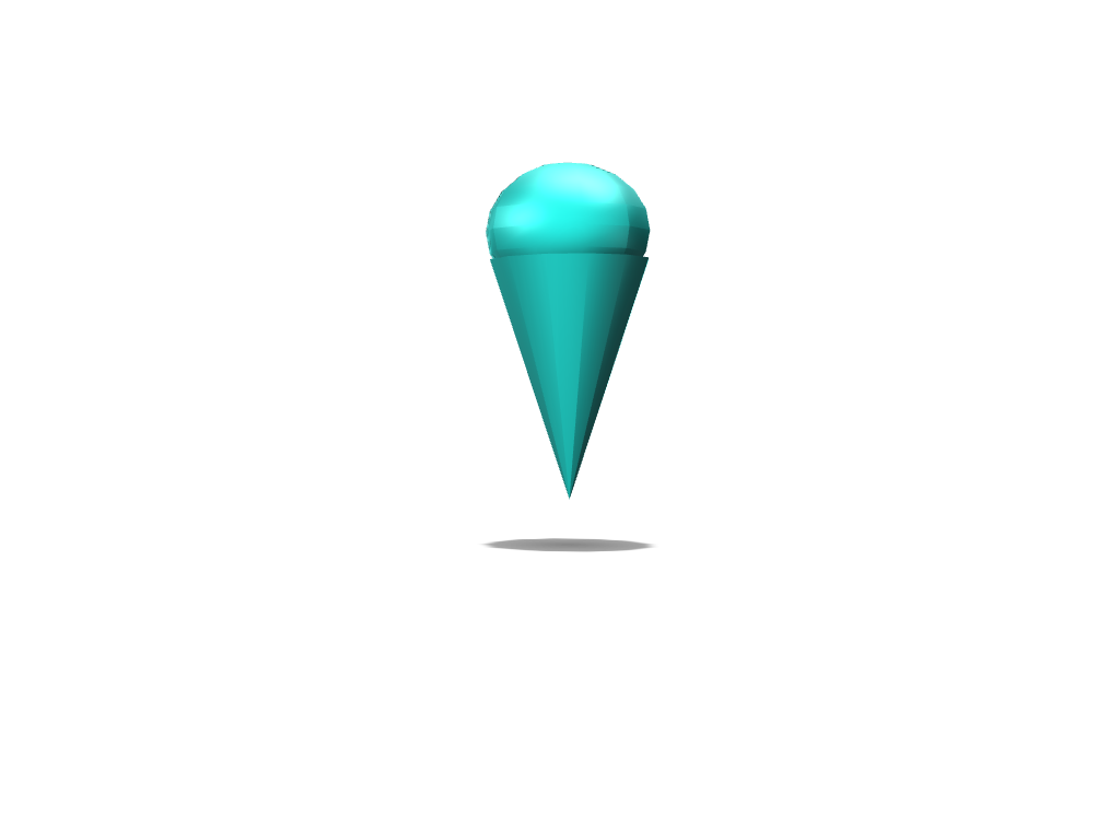SNOW CONE IDC - 3D design by alexanderburnside on May 18, 2018