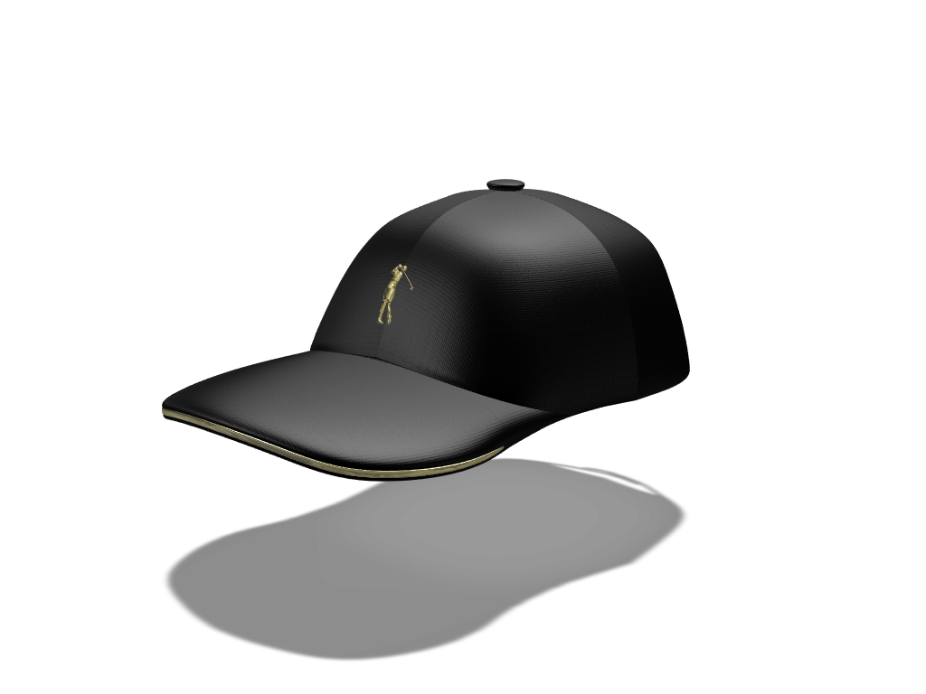 Golfer Hat - 3D design by Wichi Mazursky on Apr 19, 2018