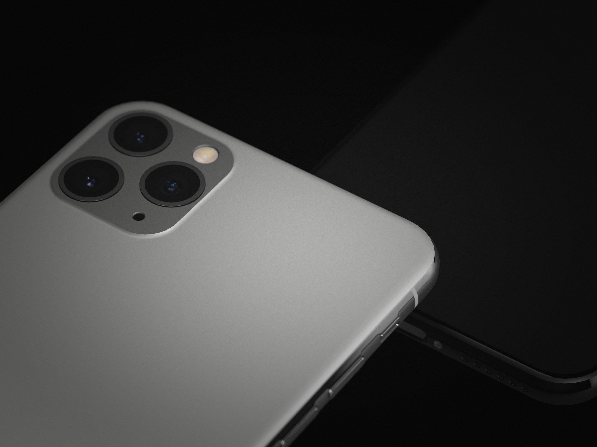 Dark iPhone 11 Pro Mockup - 3D design by Vectary templates Sep 18, 2019