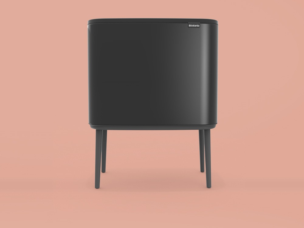 Bo Touch Bin - Matt Black - 3D design by danny on Oct 7, 2018