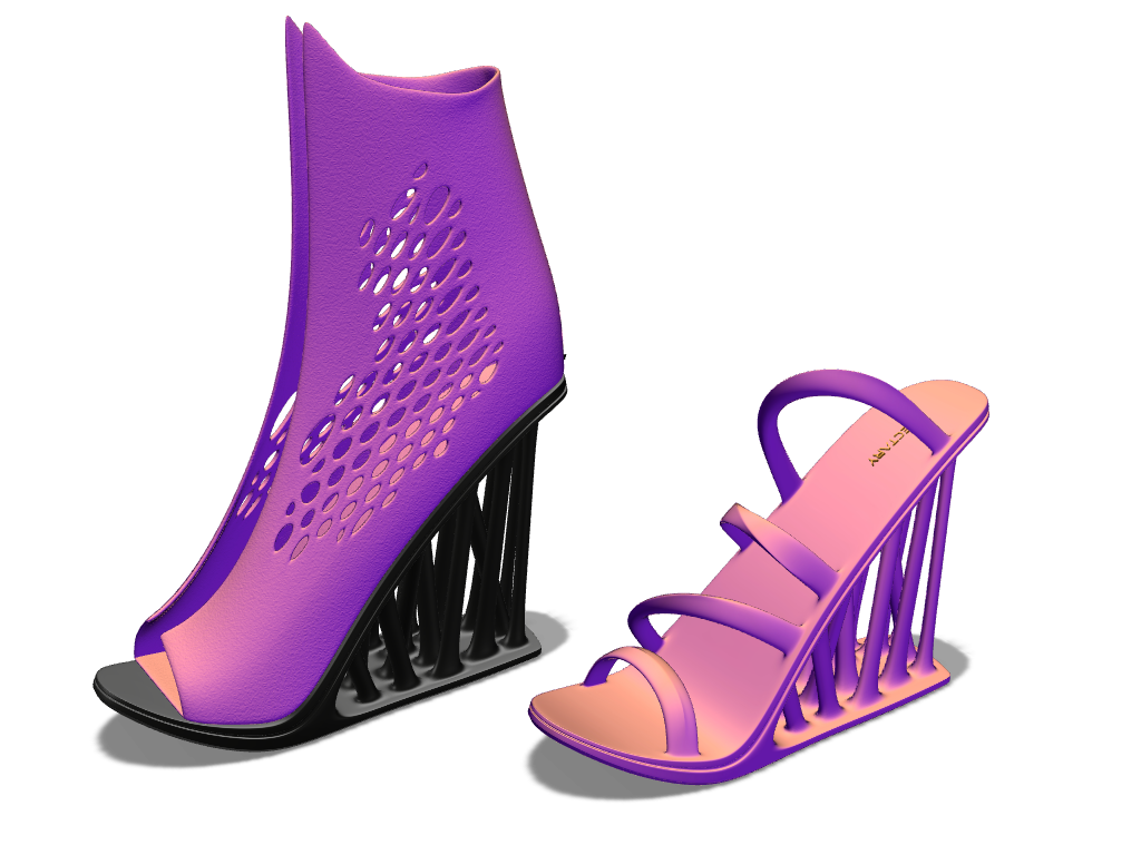 Vectary high heels - 3D design by VECTARY Nov 2, 2017