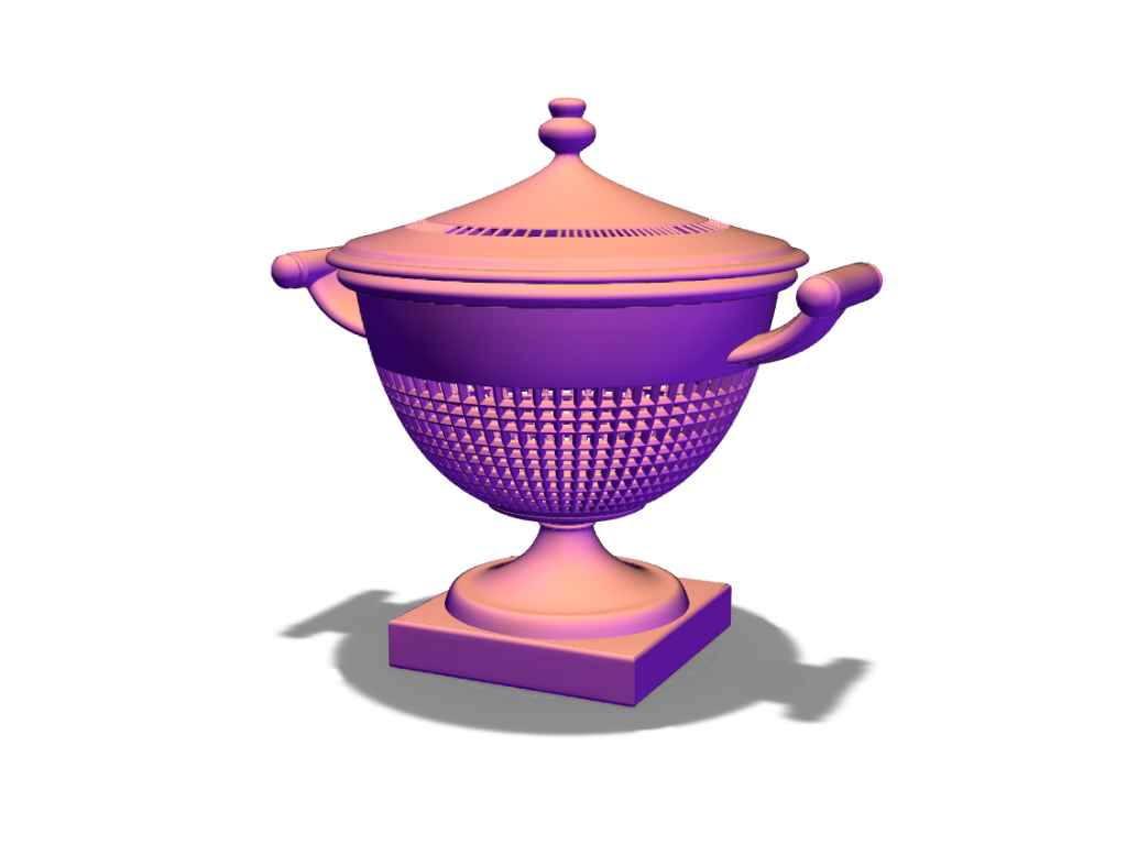 Tureen - 3D design by Adrian Aug 25, 2017