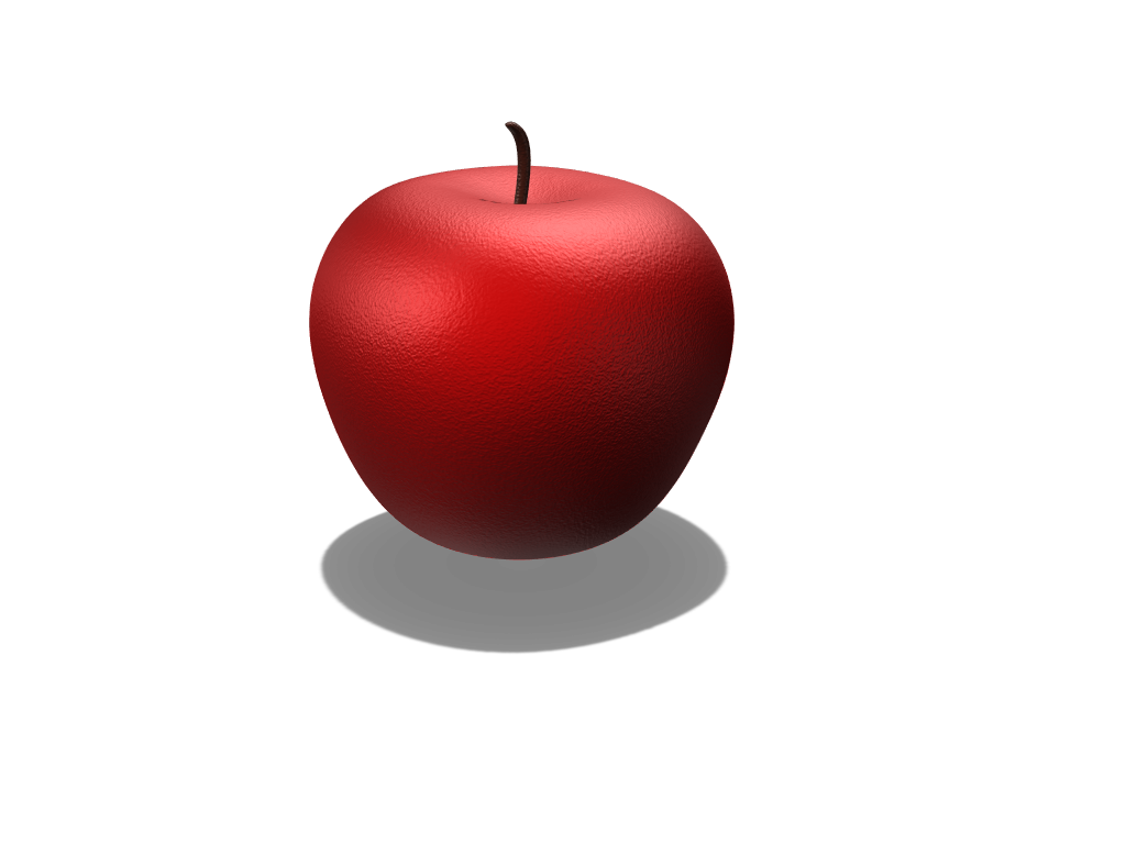 Apple - 3D design by pineapple_elza on Jan 31, 2018