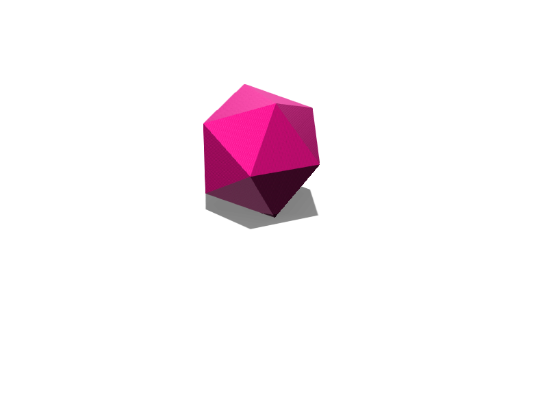 Polyhedron - 3D design by markhmura5 Apr 29, 2018
