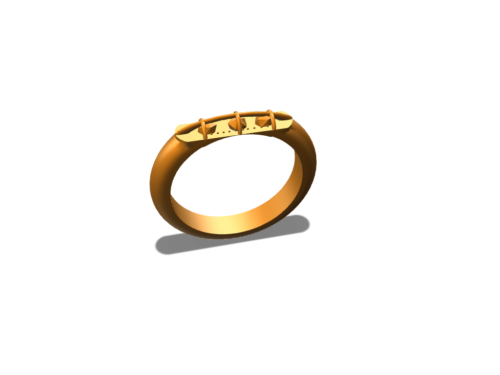 gold ring no.2 - 3D design by jacobliapis Sep 1, 2017