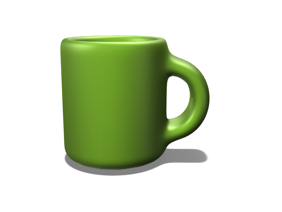 Coffee Mug - Alan Patini - 3D design by apatino21 Nov 1, 2017