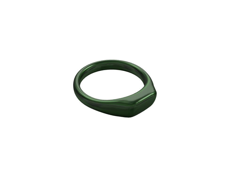 Green Ring Jewlery - 3D design by hunterforero on Nov 24, 2017