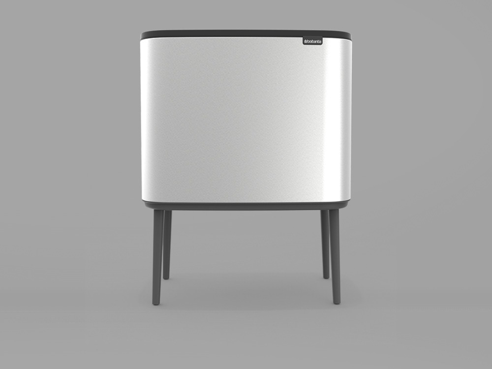 Bo Touch Bin - Matt Steel (copy) - 3D design by danny on Oct 8, 2018