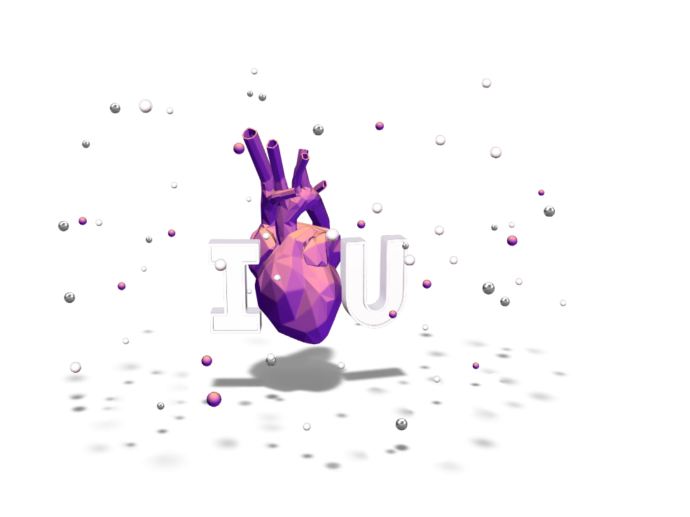 love - 3D design by Aitor Rodriguez Varela on Feb 17, 2018