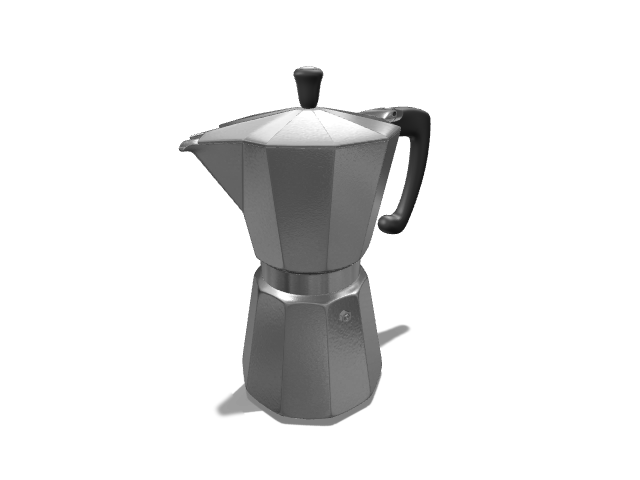 Vintage Coffee Machine - 3D design by meshtush on Dec 26, 2016