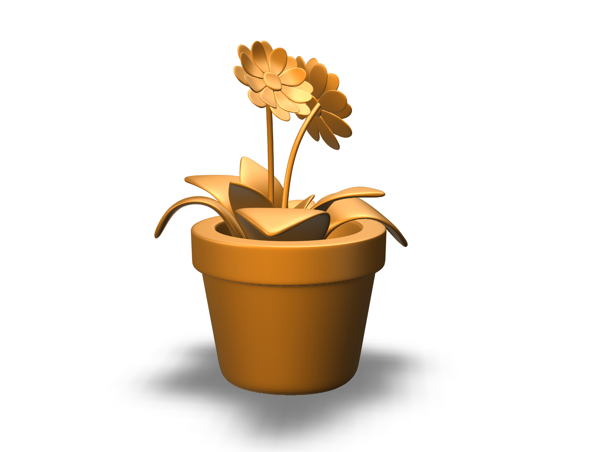 flower - 3D design by Rachel Mann Apr 12, 2018