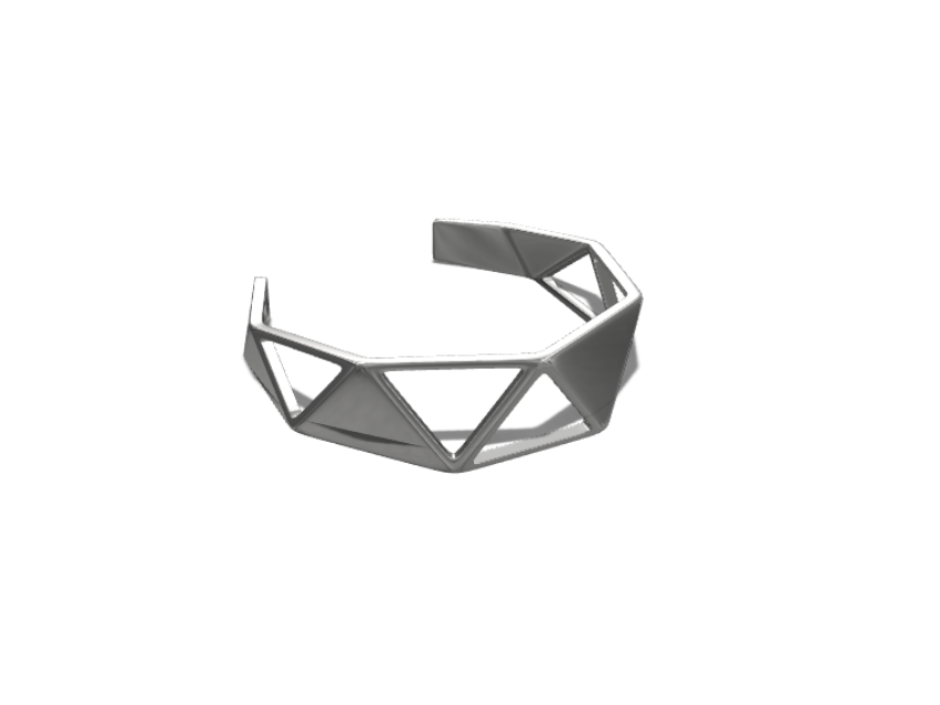 Cuff - 3D design by Dan O'Connell Aug 19, 2017