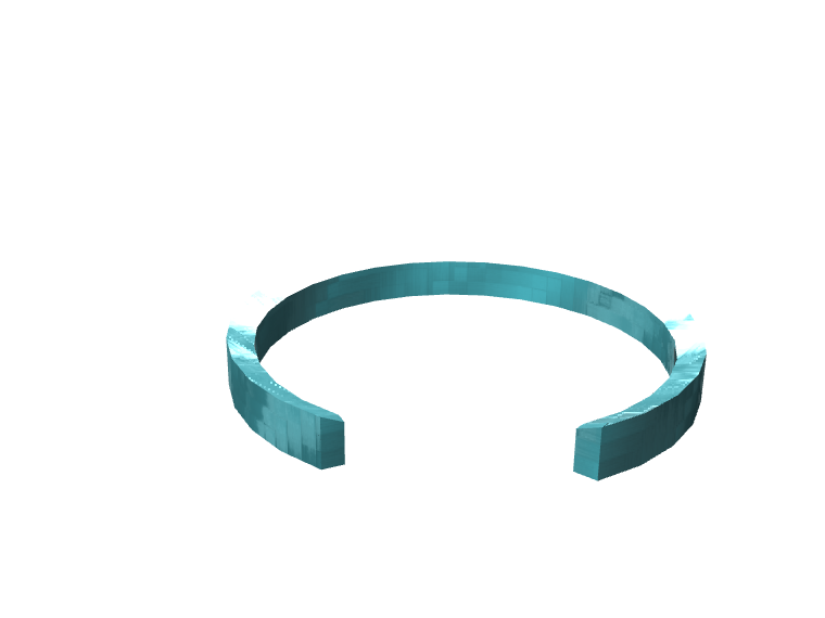 Bracelet V2 - 3D design by Mathieu Charré Apr 21, 2017