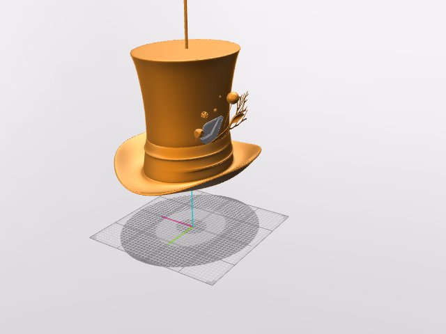 Mad Hatter Lampshade - 3D design by Andy Klement Aug 10, 2016