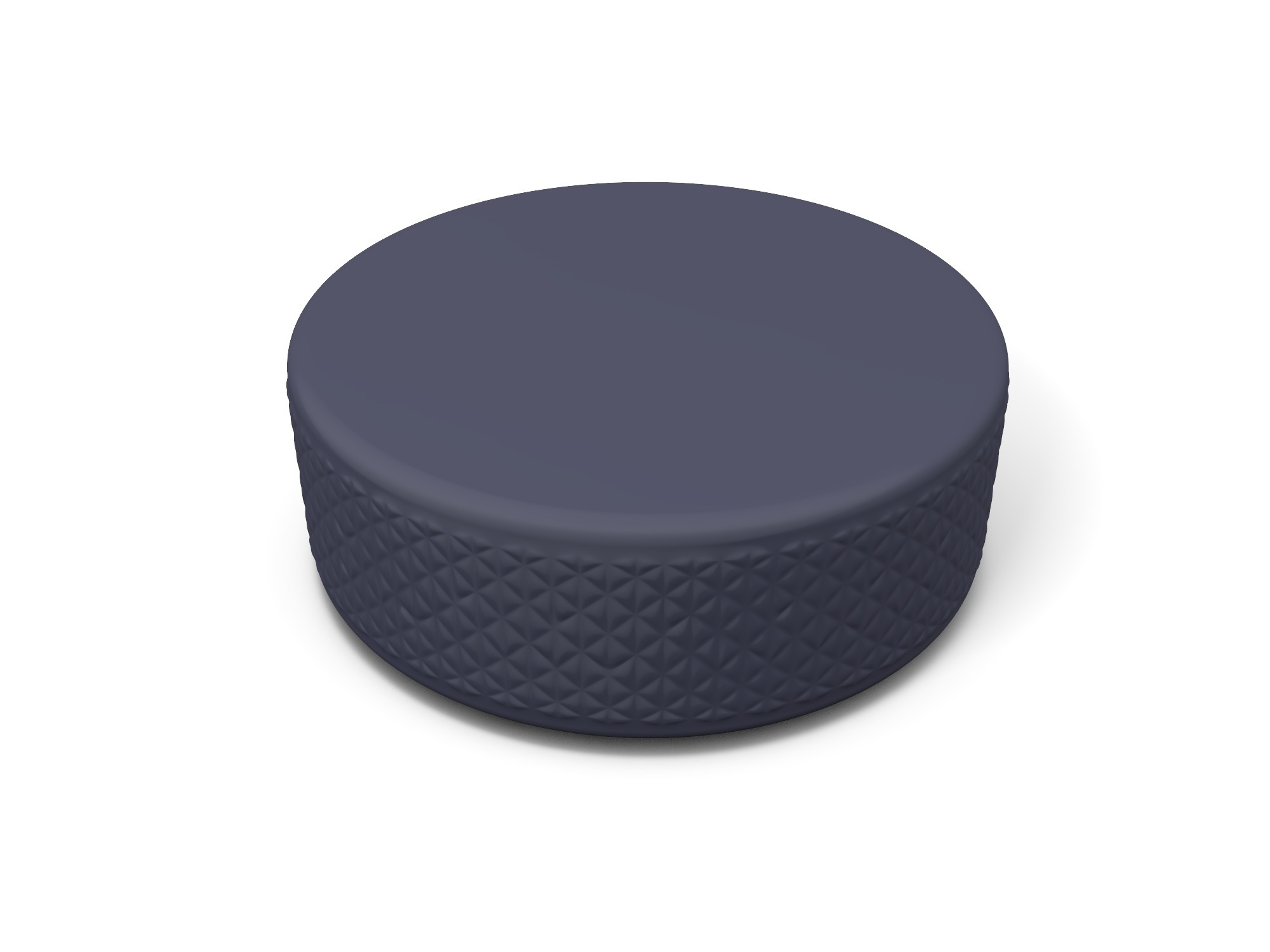 Hockey puck - 3D design by Vectary assets Aug 20, 2018