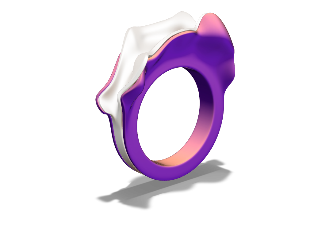 Engagement ring - 3D design by Milan Gladiš Aug 7, 2016