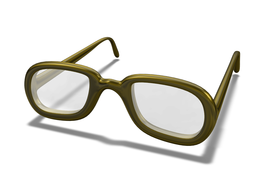 Glasses - 3D design by spnguyen2 on May 8, 2018