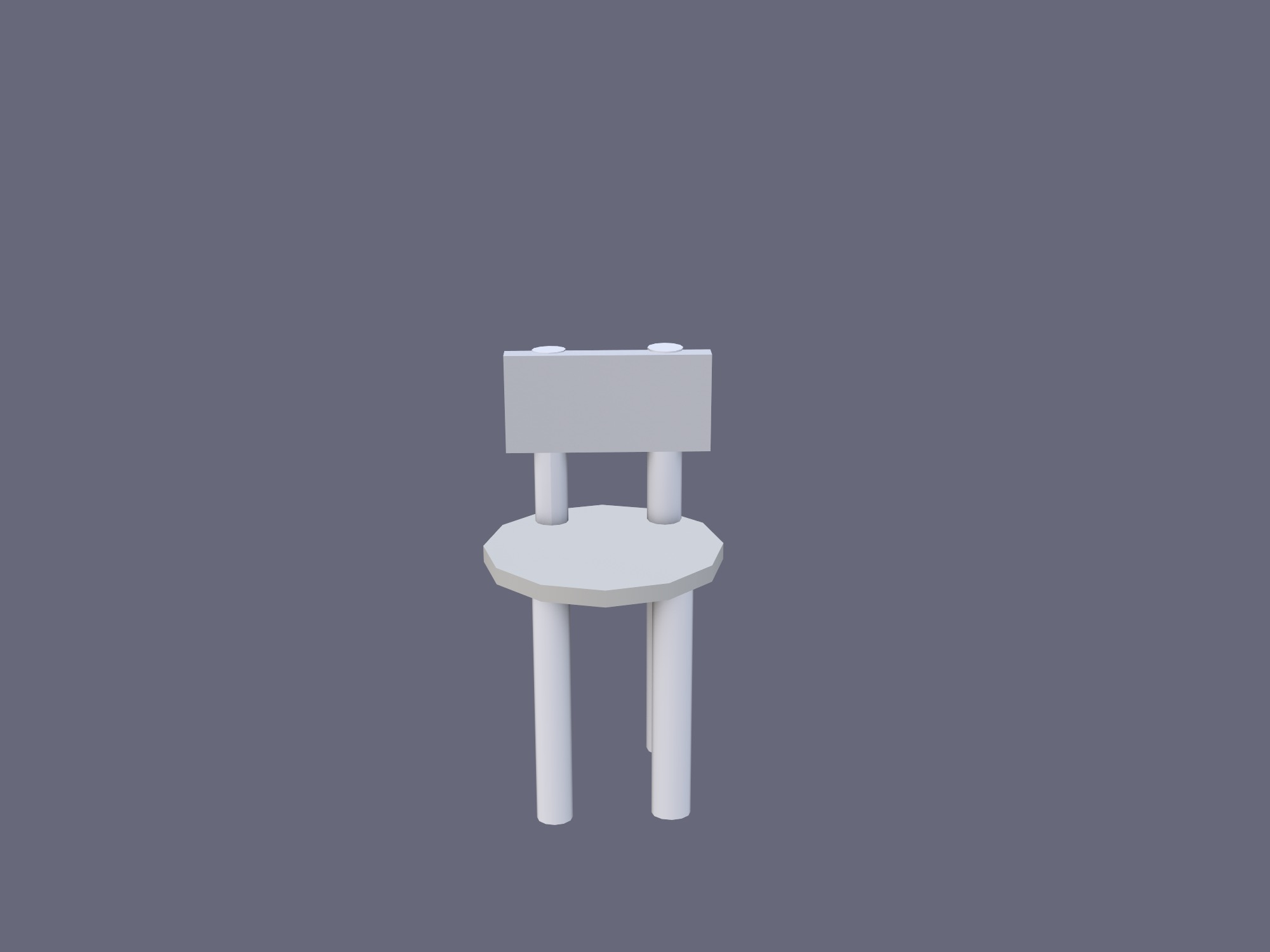 Stool - 3D design by madywistrand on Nov 12, 2018