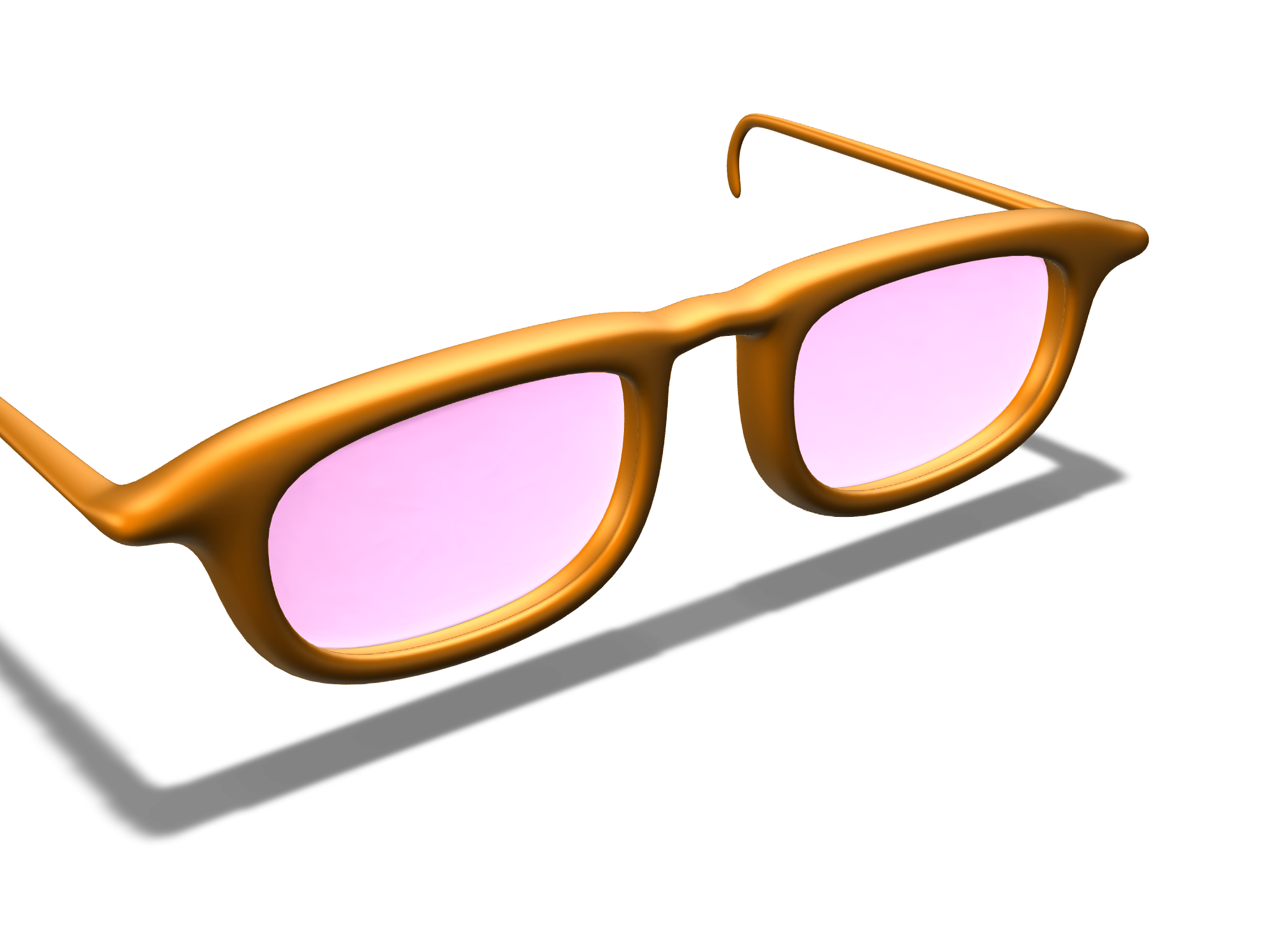 glasses - 3D design by Jacob Tran on Feb 15, 2018